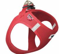 image of Curli - Vest Air-mesh Harness Red Xsmall