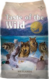 Taste Of The Wild Wetland Canine With Roasted Fowl