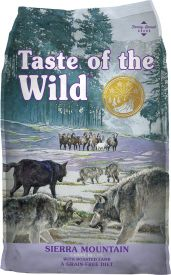 Taste Of The Wild Sierra Mountain Canine With Roasted Lamb Dog Food
