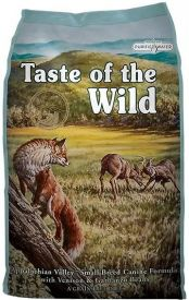 Taste Of The Wild Appalachain Valley Small Breed Canine Venison Garbanzo Beans