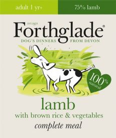 Forthglade Lamb With Brown Rice And Vegetables