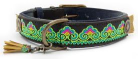image of Dog With A Mission - Montana Sky 4cm Xl Collar