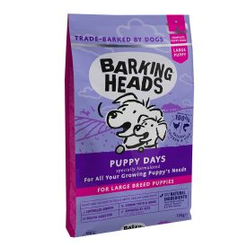 Barking Heads Puppy Days For Large Breed Puppies