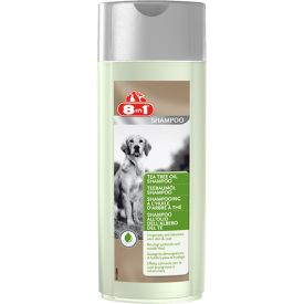 image of 8in1  Shampoo For Dogs Tea Tree Oil 250ml