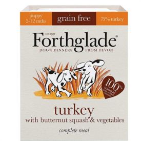 Forthglade-puppy Turkey Butternut Squash And Vegetables