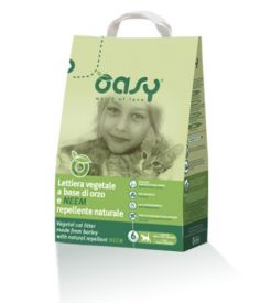 Oasy Natural Litter Based On Barley And Neem