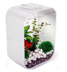 Biorb Life 15l White Aquarium Mcr With Led Lights