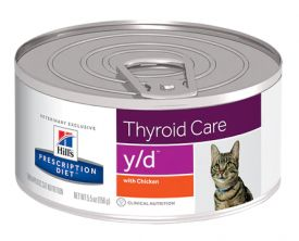 Hills Prescription Thyroid Care Y/d 156 Gr