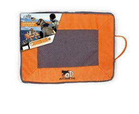 All For Paws Quick Dry Outdoor Mat L 100x75x6cm Orange