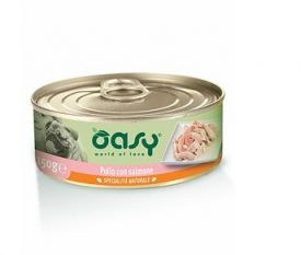image of Oasy  Chicken With Salmon 150gr