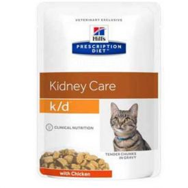 Hills Feline K/d Chicken Food For Cats 85 Gr