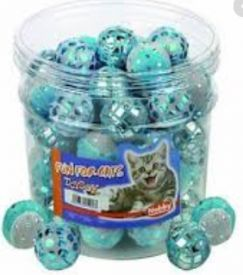 image of Nobby Toy Box Cat Ball 4cm