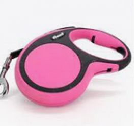 Flexi Leash Tape Comfort 8m Pink