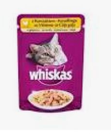 image of Whiskas 1+ In Jelly 100gr Chicken