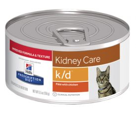 Hills Prescription Diet Kd Kidney Care Pate With Chicken Wet Cat Food