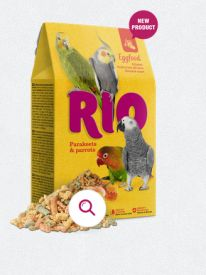 Rio Eggfood For Parakeets And Parrots