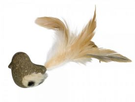 Nobby Catnip Bird With Plush & Feathers