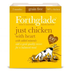Forthglade-just Chicken With Heart 395g