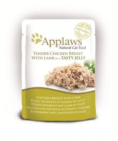 Applaws Cat Jelly Pouch Chicken / Lamb