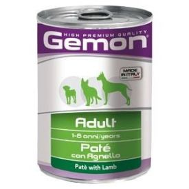 Gemon Dog Pate Adult With Lamb 0.4kg