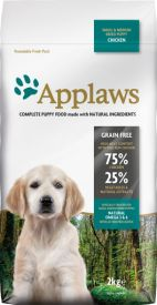 Applaws Food For Puppies Of Breed Pequna And Medium Chicken