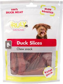 Truly Soft Duck Slices 360gr