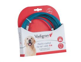 Tie Out Cable Blue 6m
