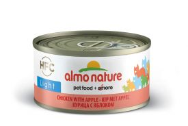 image of Almo Nature Light Hfc Chicken With Apple For Cat