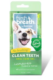 Tropiclean Teeth Gel For Dogs And Cats Fresh Breath
