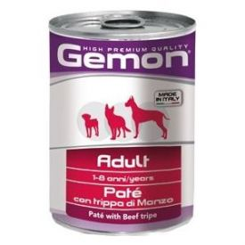 Gemon Dog Pate Adult With Beef Tripe 0.4kg