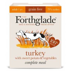 Forthglade Adult Turkey & Brown Rice