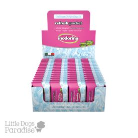 Indorina Talco Pocket Wet Tissues For Dogs And Cats