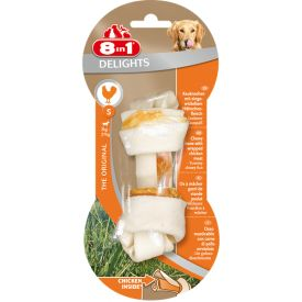 image of 8in1 Bone Delights Chicken S 40g