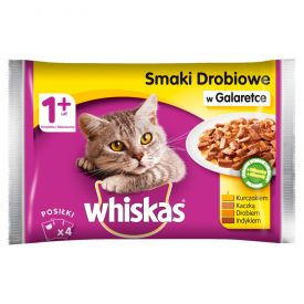 Whiskas Pouch Poultry Selection 4x100g