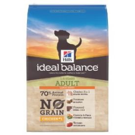Hills Ideal Balance No Grain Adult Large Breed Dog Food Chicken And Potato