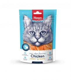 Wanpy - Soft Chicken Jerky Strips 80gr