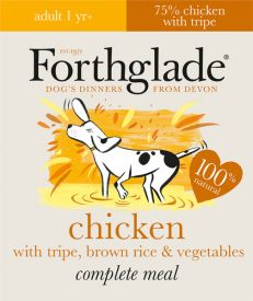 Forthglade Natural Chicen With Tripe And Brown Rice