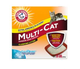 Arm And Hammer Multi-cat Strength Clumping Litter Original