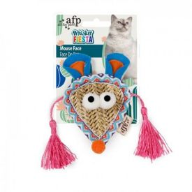 Afp Cat Toy Whisker Fiesta Mouse Face