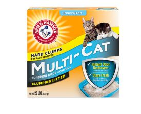 Arm And Hammer Multi-cat Strength Clumping Litter, Unscented