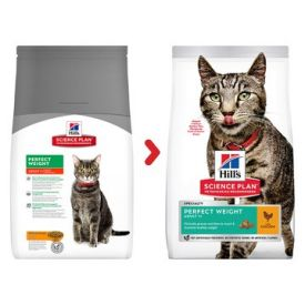 Hill's Science Plan Perfect Weight Adult Cat Food With Chicken