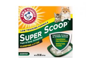 Arm And Hammer Super Scoop Clumping Litter Fresh Scent
