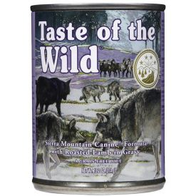 Taste Of The Wild Sierra Mountain Canine Formula With Lamb In Gravy Dog Food 390g