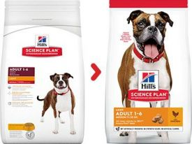 Hill's Science Plan Light Medium Adult Dog Food With Chicken