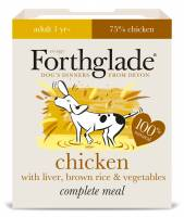Forthglade- Adult Chicken & Liver With Rice & Vegetables 395g