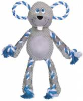 Nobby Plush Mous With Rope 38 Cm